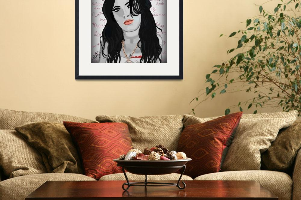 """""""Amy Winehouse -Londoner&quot  by UKLady2"""