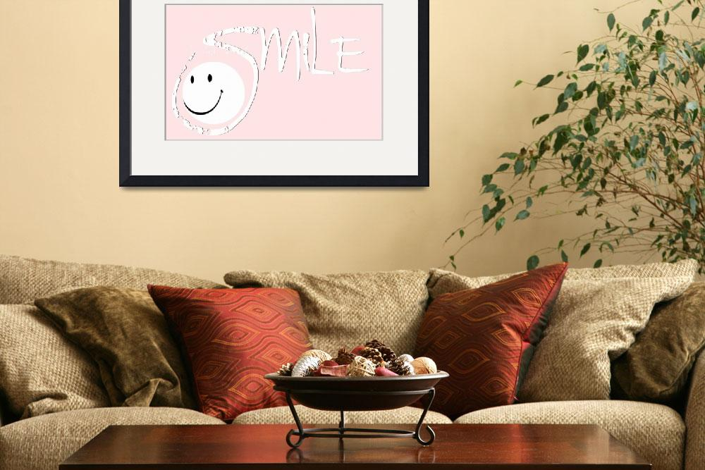 """""""smile white pink""""  by lizmix"""