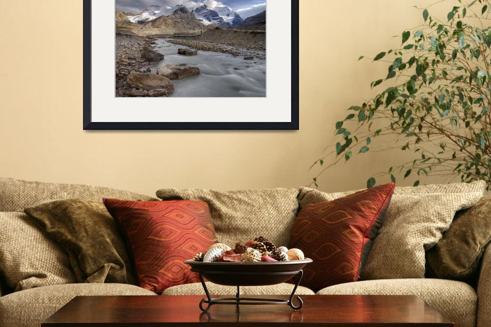"""""""Mount Athabasca and Mount Andromeda, Jasper Nation&quot  by DesignPics"""