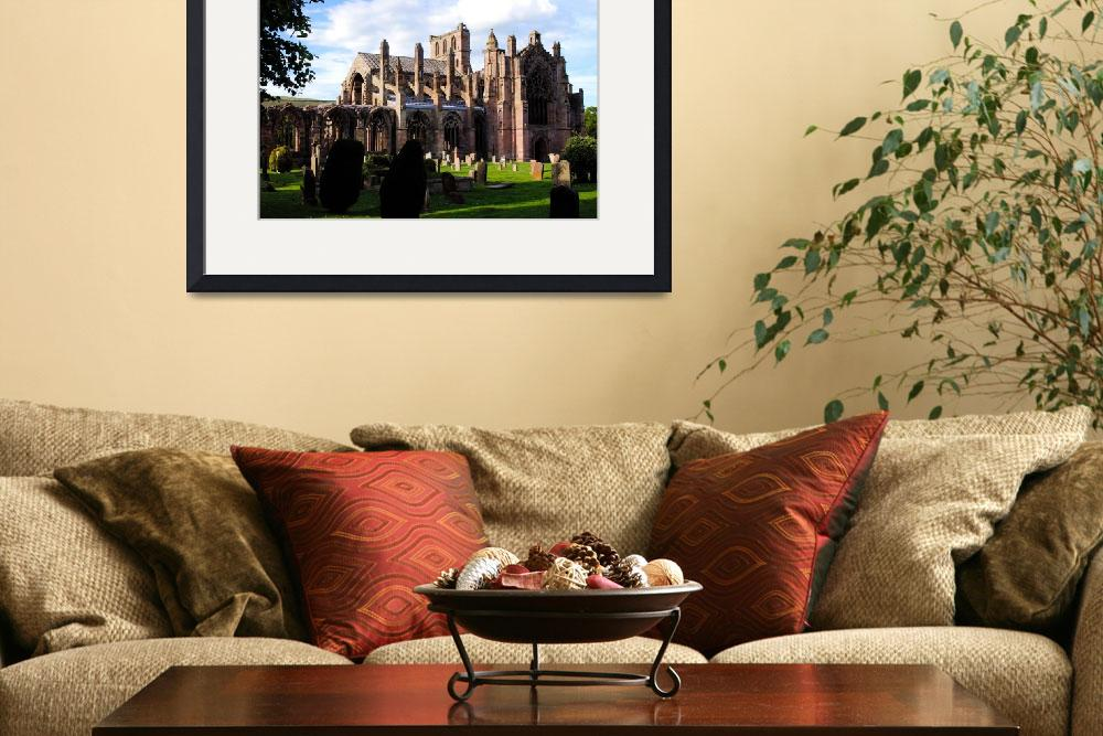 """""""Melrose Abbey&quot  by Photomac"""