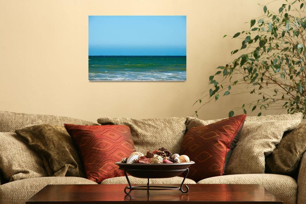 """Sea horizon""  (2014) by mfmegevand"