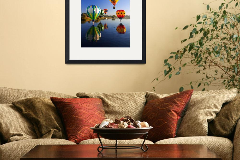 """""""Balloon Reflections&quot  (2010) by Dawsonimages"""