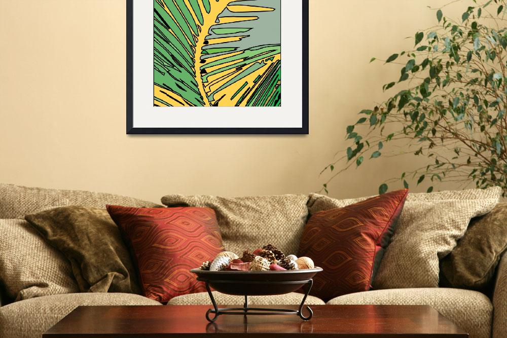 """""""sunny palm&quot  (2014) by tlcdesigns"""