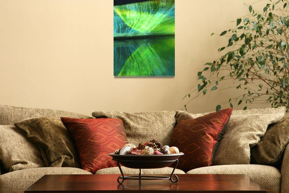 """""""Green Reflection""""  (2008) by photosbydesign"""