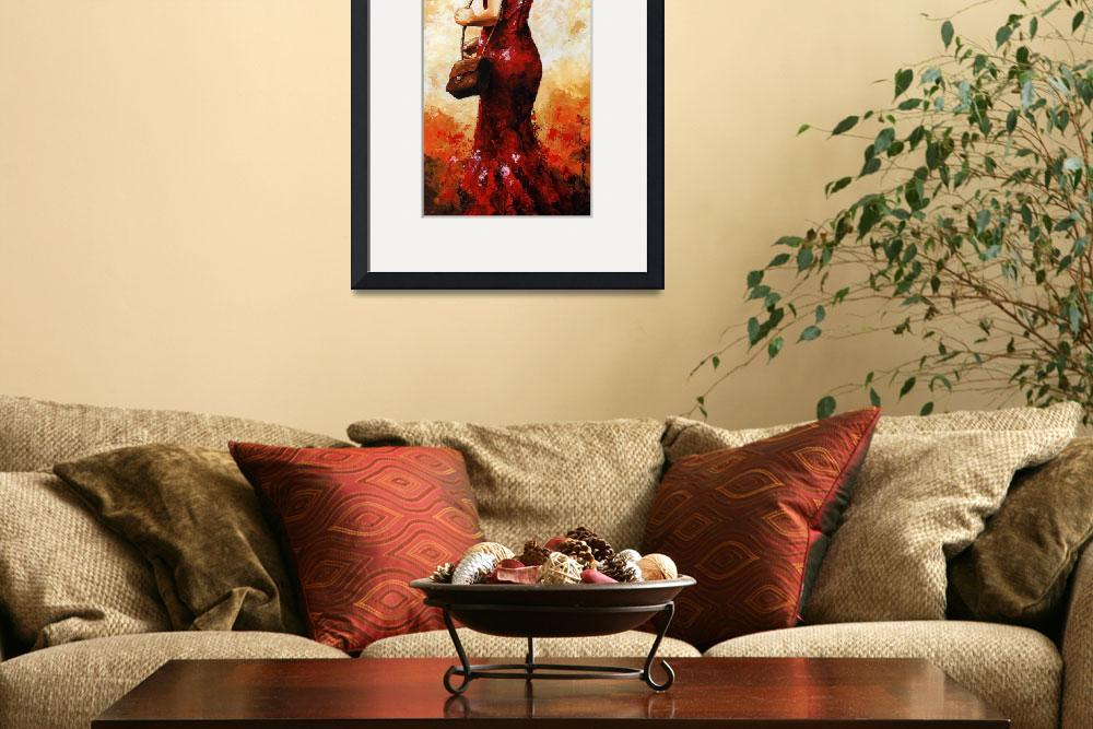 """""""Lady in Red 30&quot  (2012) by EmericoStyle"""