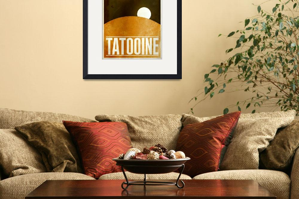 """Tatooine&quot  (2010) by JustinVG"