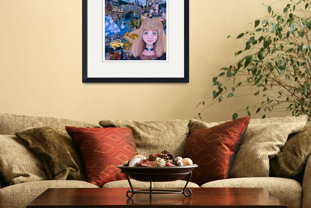 """""""Lucy inthe Sky with Diamonds Giclee&quot  (2007) by RockandRollRehab"""