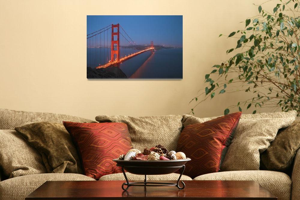 """""""Golden Gate Sunset&quot  by jauderho"""