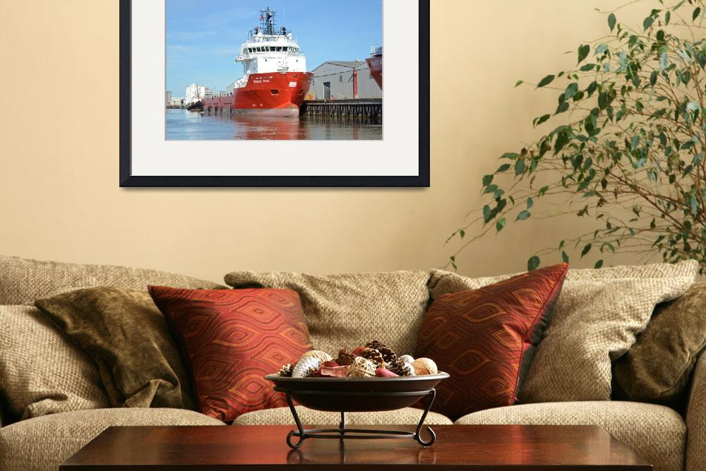 """""""Offshore Supply Ship Durga Devi&quot  (2013) by malcolmsnook"""