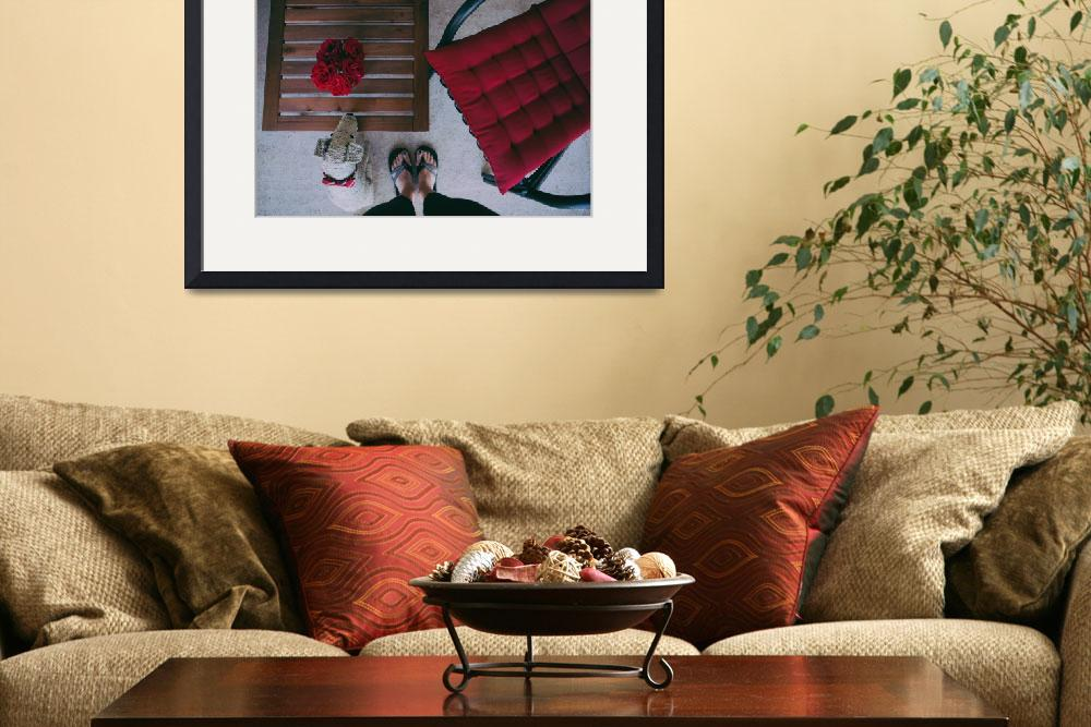 """""""socrat dog and the red roses""""  by bravolesfilles"""