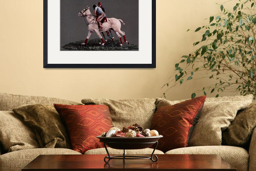 """""""Polo painting&quot  by AnimalsbyDiDi"""