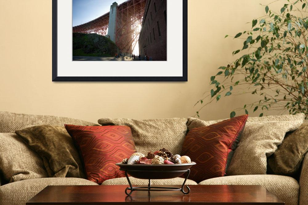 """""""Golden Gate Fort - Outside""""  by jmmupton"""