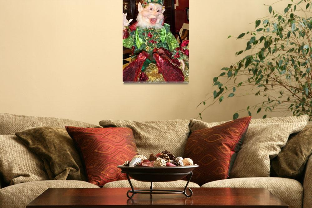 """Cheerful Elf""  (2008) by photographybydonna"