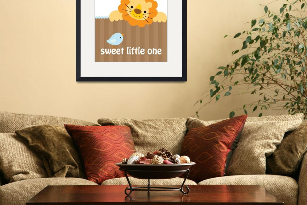 """""""Sweet Little Lion&quot  (2009) by cocoastudio"""