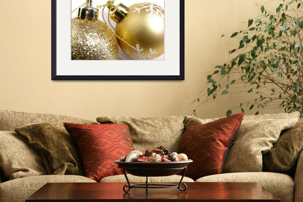 """""""christmas_balls&quot  (2007) by jlv"""