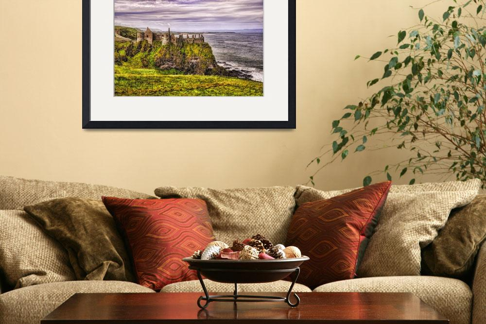 """""""Dunluce Castle II""""  (2012) by PaulCoco"""