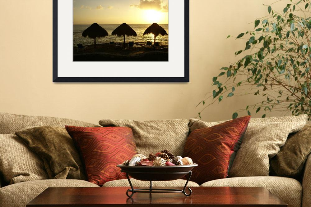 """""""Tres Palapas&quot  by barefootsoulphotography"""
