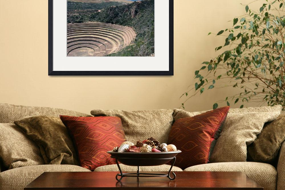 """""""Moray in the sacred valley of the Incas&quot  (2010) by Maly"""