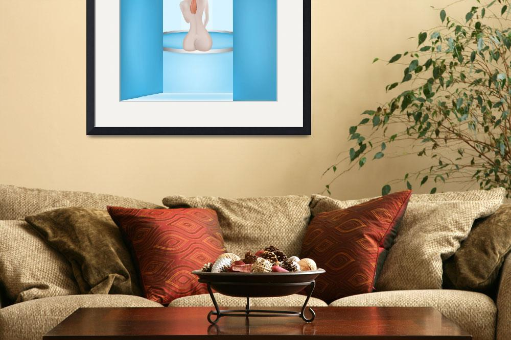 """""""Girl on the Tub&quot  (2013) by AnneSoule"""