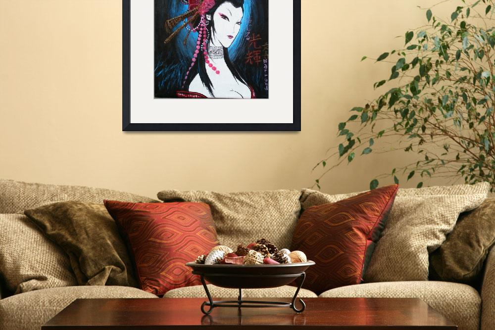 """Night Maiden&quot  (2008) by ChristinasCanvas"