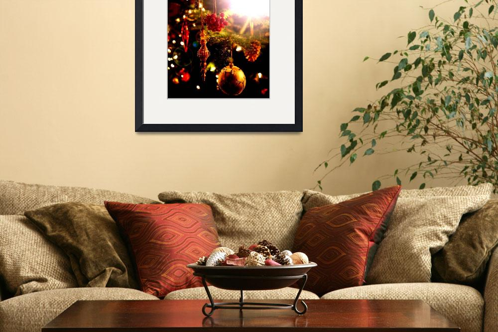 """""""Christmas tree decorations&quot  by RobynL"""