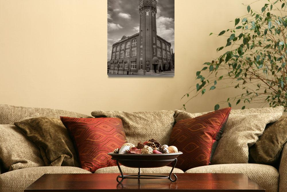 """""""Clock Tower""""  (2008) by JamesHowePhotography"""