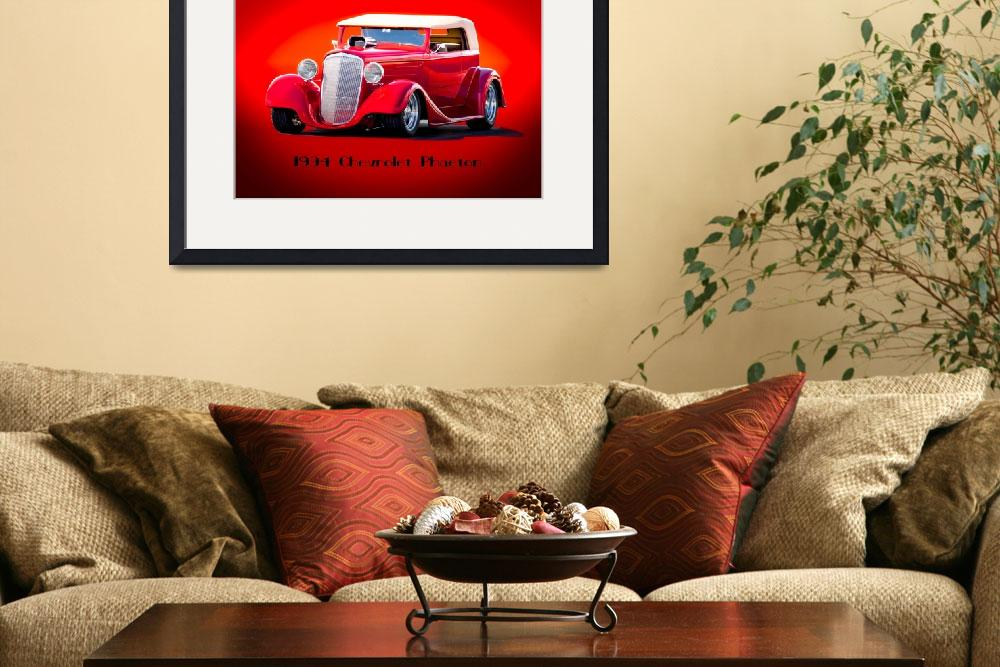 """""""1934 Chevrolet Phaeton&quot  by FatKatPhotography"""