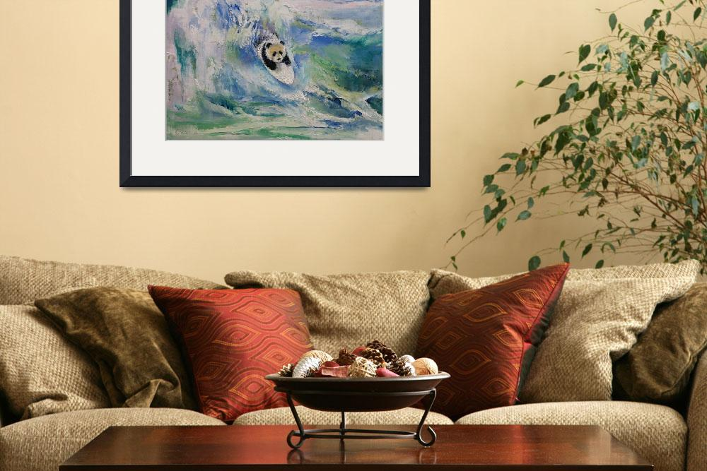 """""""Panda Surfer&quot  by creese"""