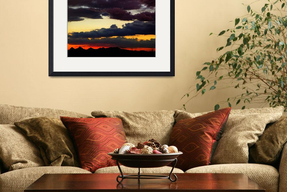 """Tucson sunset&quot  (2009) by annav"