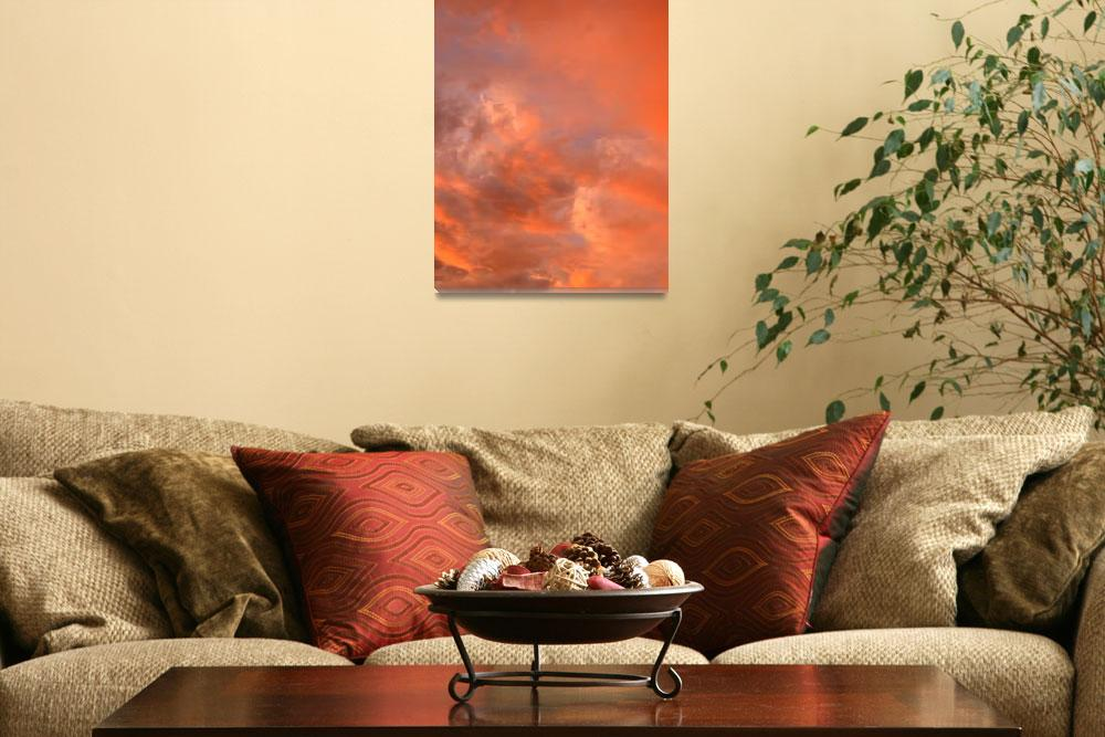 """""""Red Evening Sky""""  (2012) by timothyoleary"""