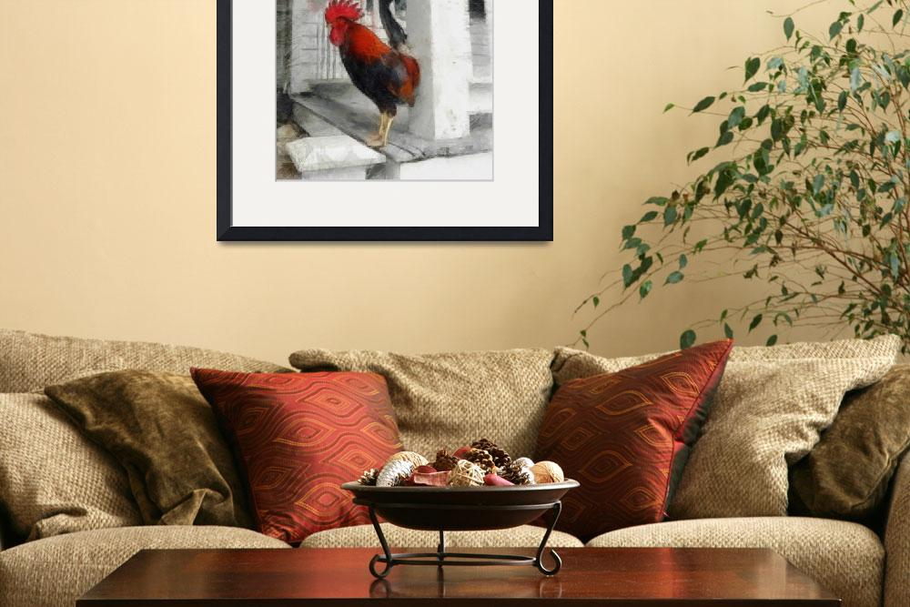 """""""Key West Rooster&quot  (2012) by Michelle1991"""