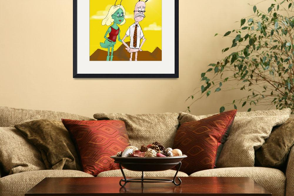 """""""Zoo Bugs Poster""""  (2010) by LAArtworks"""