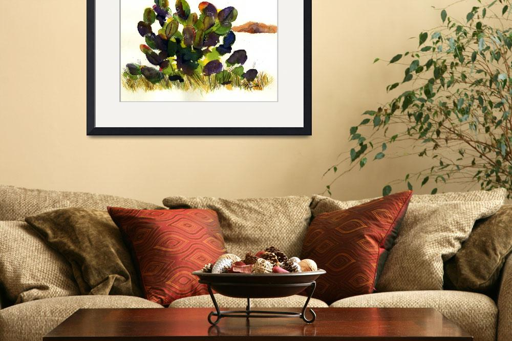 """""""Prickly Pear Cactus&quot  by GayelaChapman"""