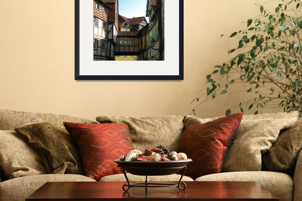 """""""Classic German Wood Frame Architecture&quot  (2008) by markdowdell"""