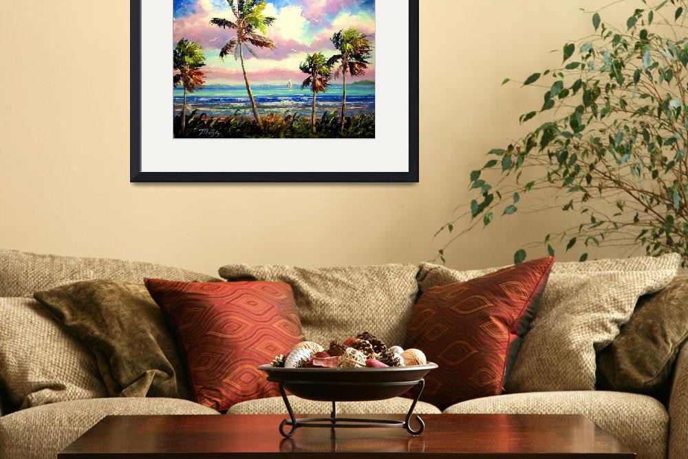 """""""Vibrant Tropical Wind&quot  (2009) by mazz"""