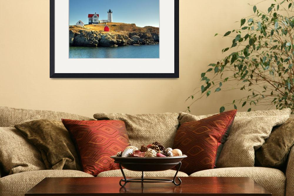 """Nubble Light York Maine""  (2012) by jkphotos"