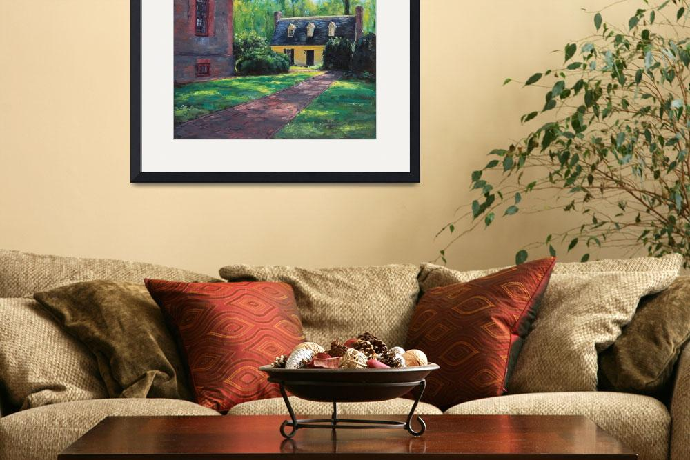 """""""Wilton House Side View&quot  (2012) by amydonahuefineart"""