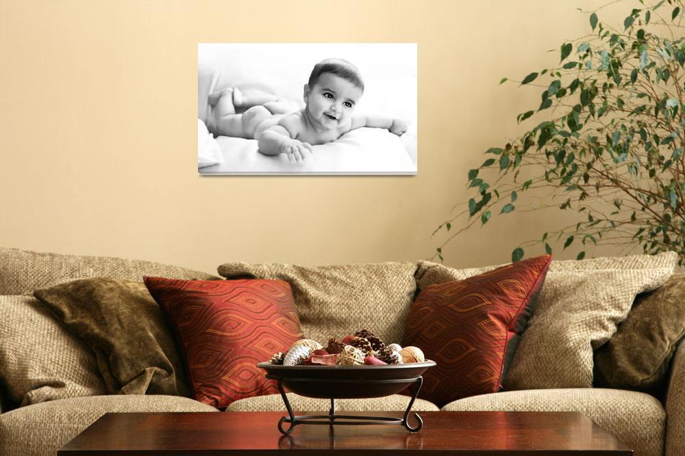 """baby boy""  (2010) by hadas-hefetz"