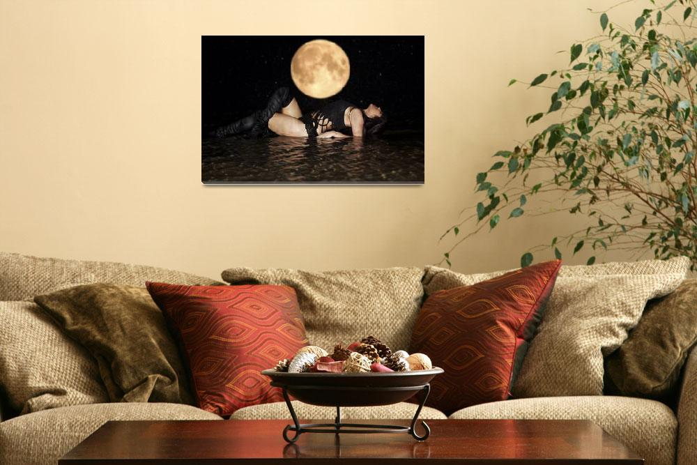 """Full Moon Beauty""  (2012) by jacvalentine"