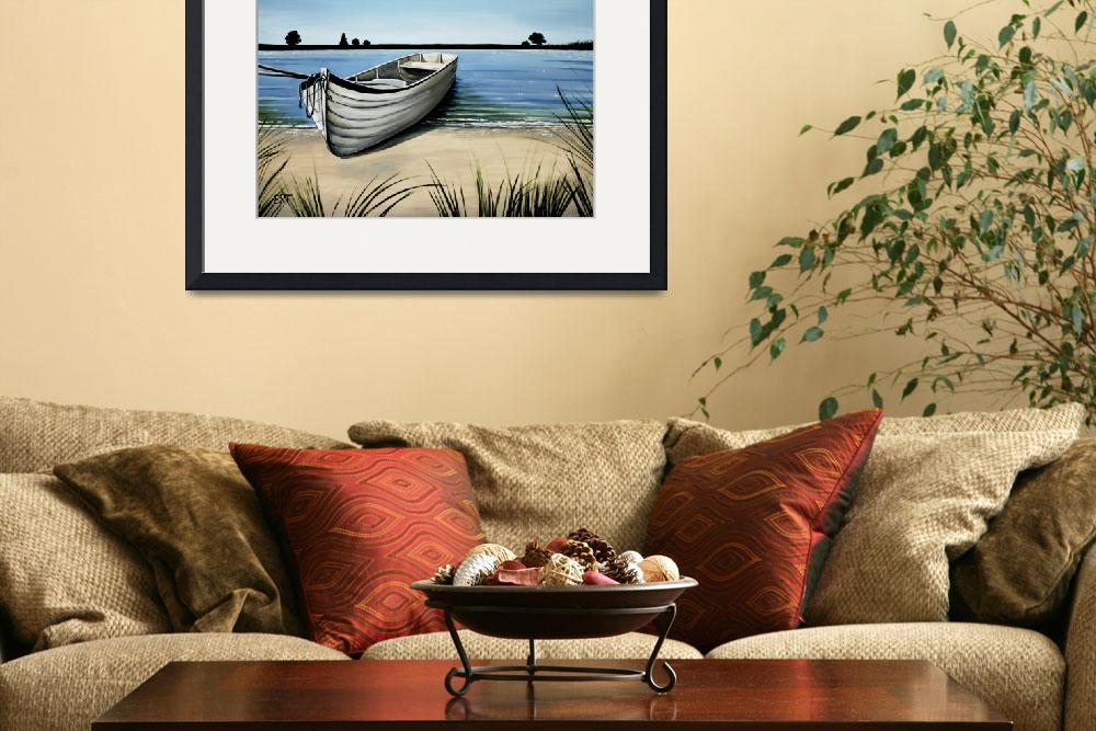 """""""Out on the Water&quot  (2009) by ElizaArt"""