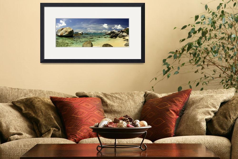 """""""Virgin Gorda Panorama - """"The Baths""""&quot  (2005) by mbryan777"""