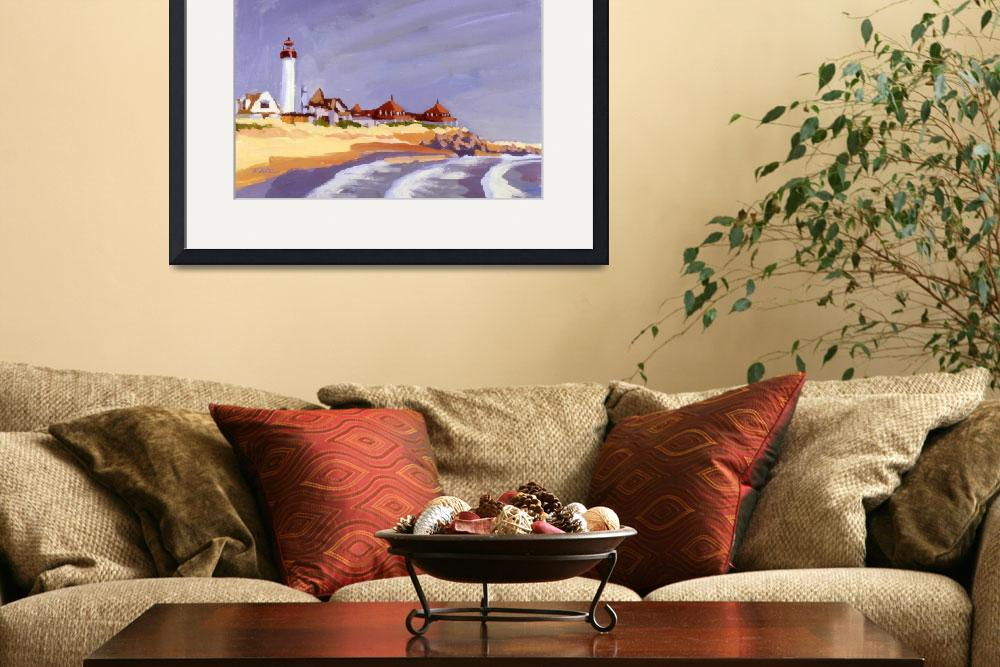 """""""Lighthouse Cape May Point""""  by rogerwhite"""