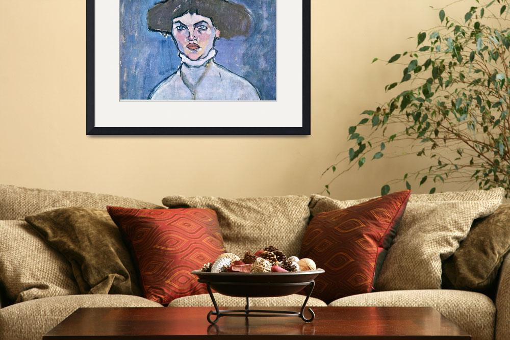 """""""Amedeo Clemente Modigliani Painting 11""""  by ArtLoversOnline"""