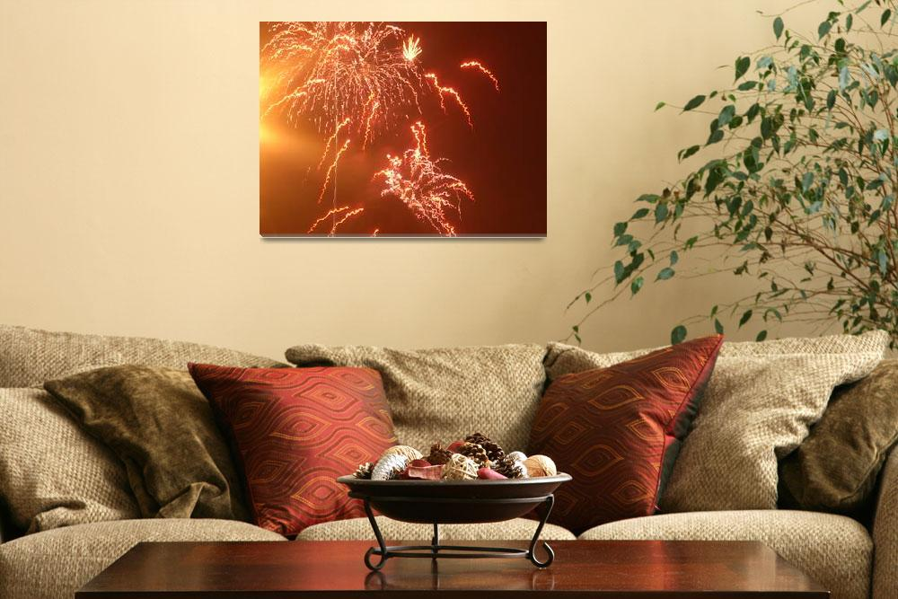 """""""fireworks 2&quot  (2009) by erinroskos"""