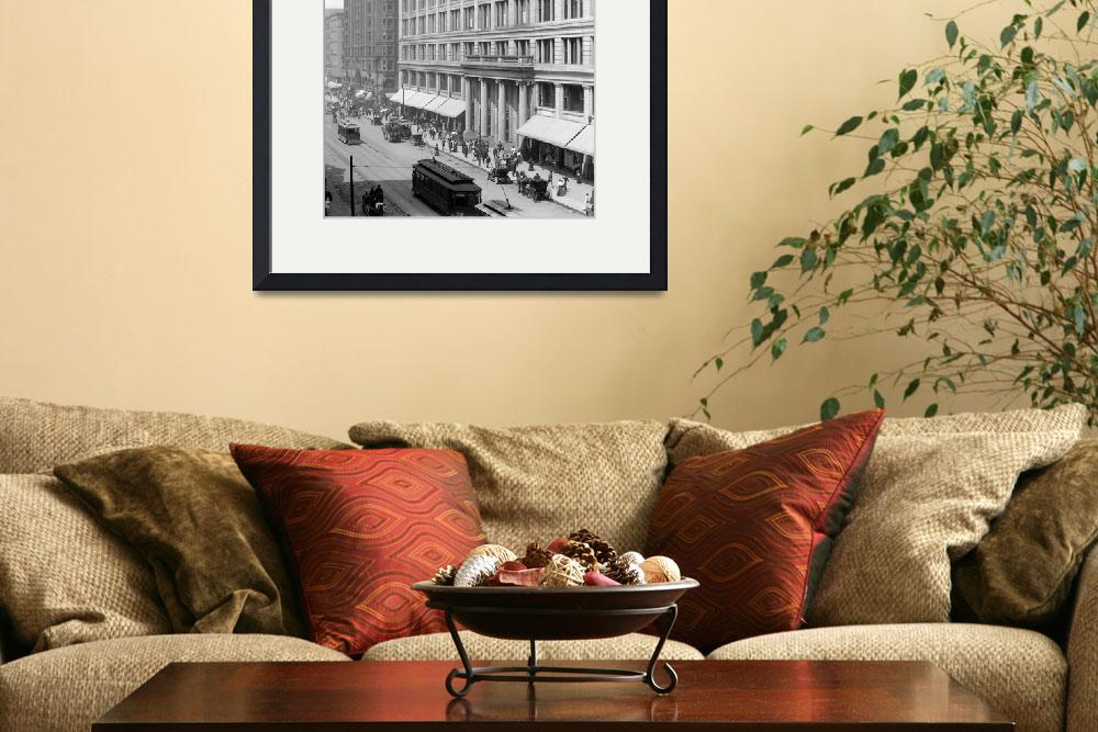 """""""MARSHALL FIELD CHICAGO""""  by homegear"""