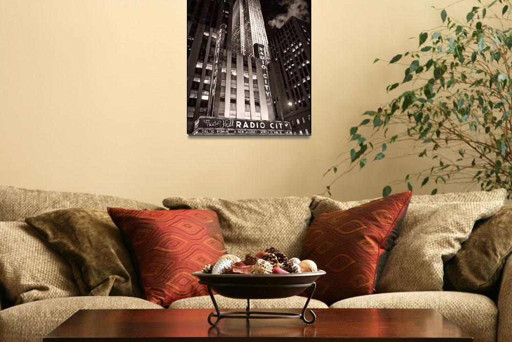 """Radio City Music Hall""  (2008) by JamesHowePhotography"
