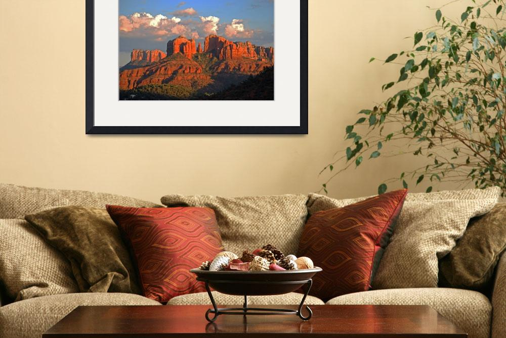 """""""Cathedral Rock Valley in Sedona AZ 365&quot  (2009) by SedonaPrints"""