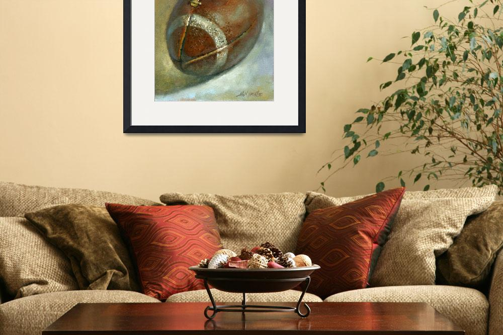 """FOOTBALL ""Tribute to Joe Namath, football legend""""  by hallgroat"