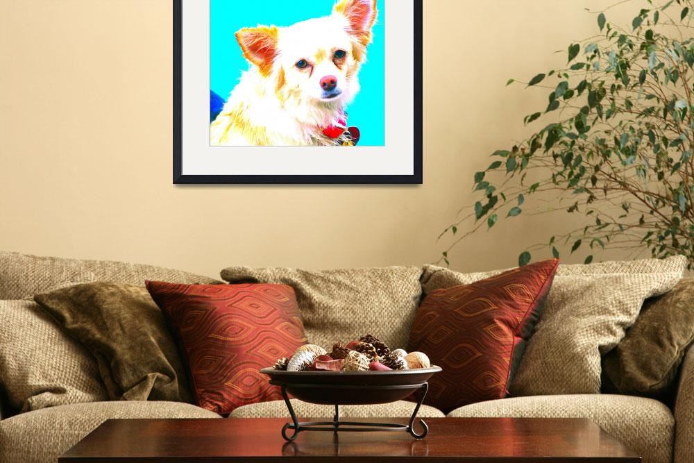 """""""Chihuahua Pop Art""""  (2008) by nadinerippelmeyer"""