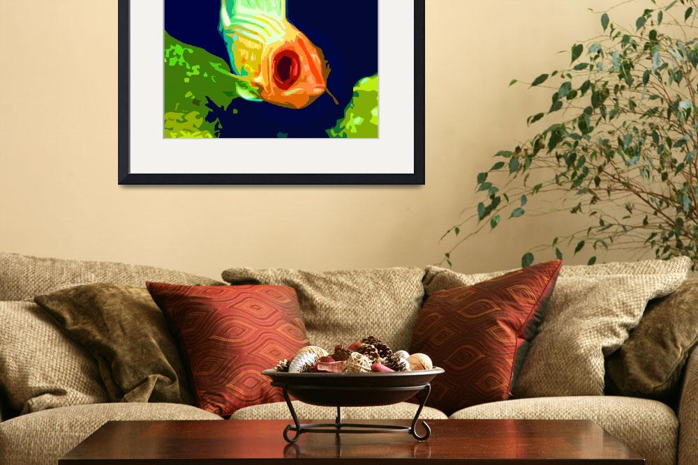 """Fishy Look""  (2010) by whitewallgallery"